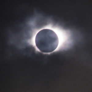 2017 total solar eclipse image capture in Beatrice Nebraska